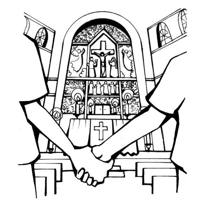 Le sacrement du mariage communaut de paroisses neudorf - Eglise dessin ...