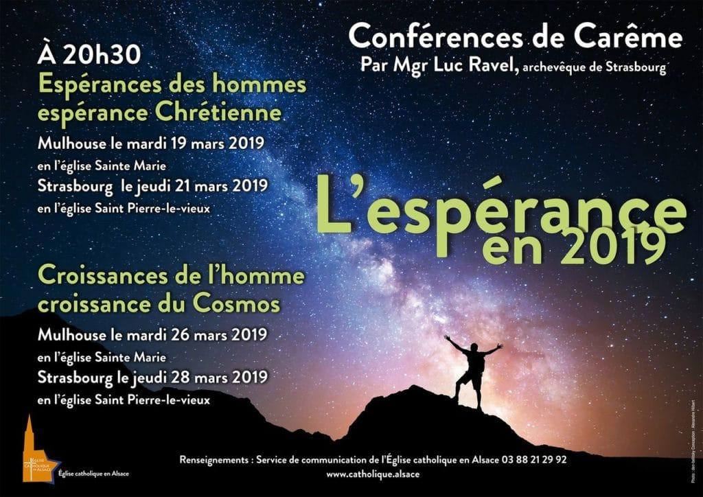 Conférences de Carême de Mgr Ravel @ Eglise Saint-Pierre le Vieux